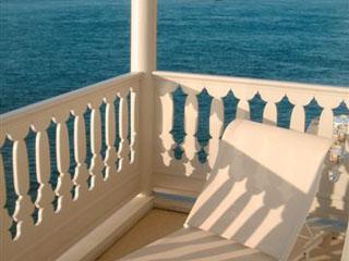 Ajia Hotel: Pasha Room Balcony