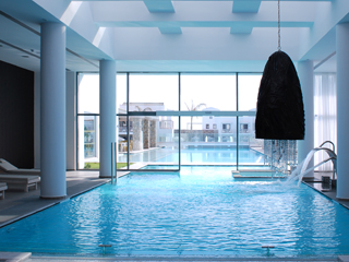Diamond Deluxe Hotel and SPA: Indoor Pool