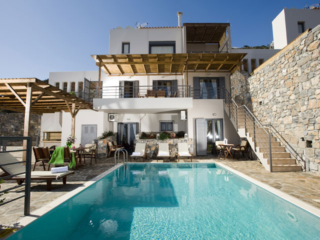 Elounda Solfez Villas: Exterior View Pool Area