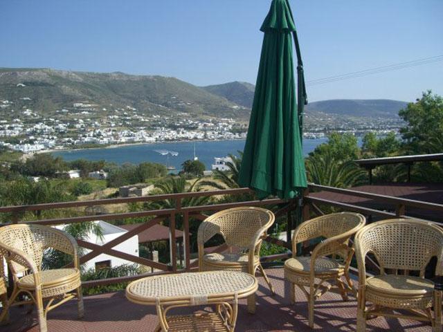 Paros Eden Park Hotel: Roof View