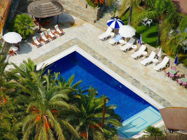 Paros Eden Park Hotel: Panoramic Pool View