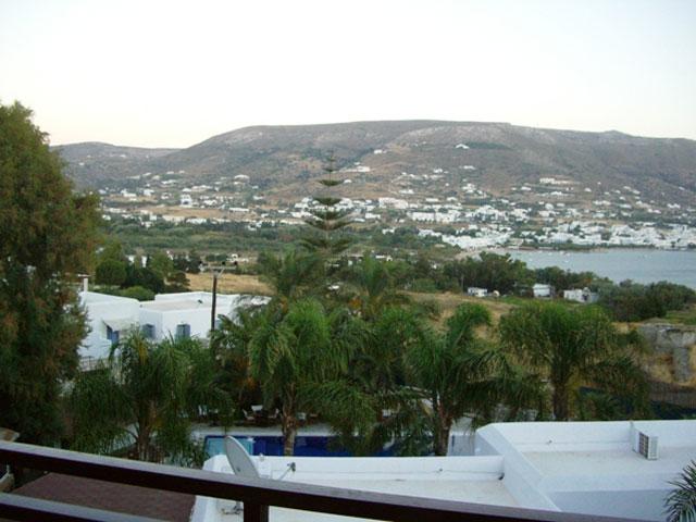 Paros Eden Park Hotel: Balcony View