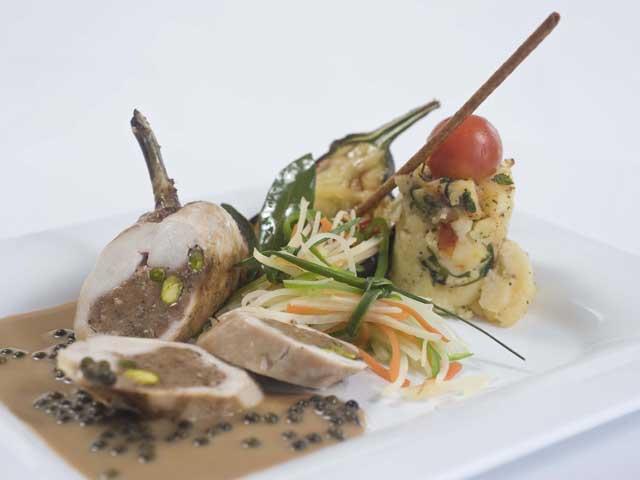 Constantinou Bros Asimina Suites: Restaurant
