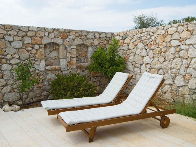 Ideales Resort: Litorina Villa:Sunbeds