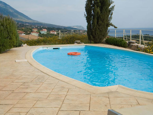 Ideales Resort: Mataki Villa:Swimming Pool