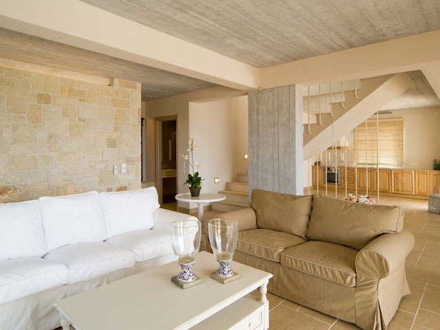 Ideales Resort: Nautilos Villa:Living Room