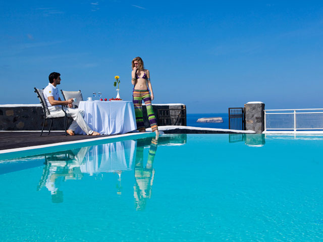 Thermes Luxury Villas: Swimming Pool