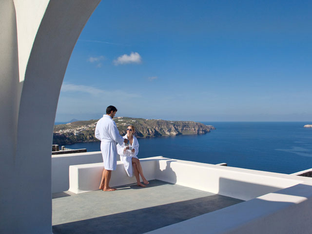 Thermes Luxury Villas: Sea View