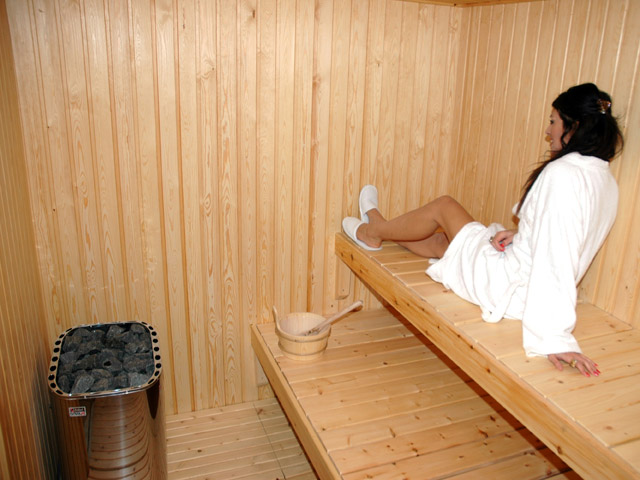 Litohoro Resort Villas & Spa: Sauna