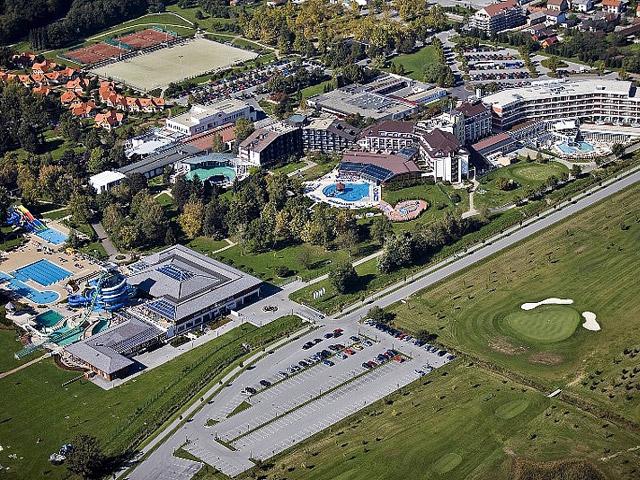 Sava Hotel Termal: Aerial View