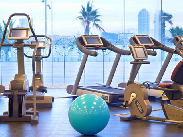 W Barcelona: Fitness centre