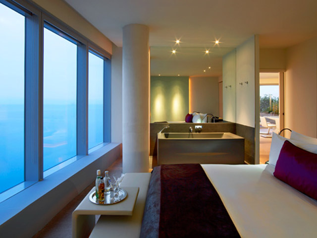 W Barcelona: Spectacular Suite- bedroom