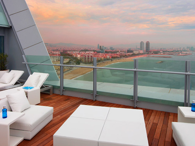 W Barcelona: Spectacular Suite-Terrace