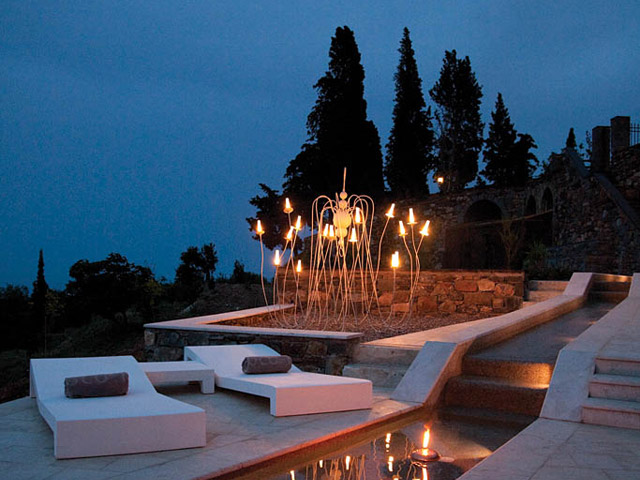 Kinsterna Hotel and Spa Monemvasia: River Like Swimming Pool