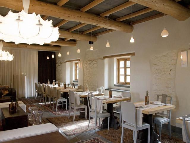 Kinsterna Hotel and Spa Monemvasia: Restaurant
