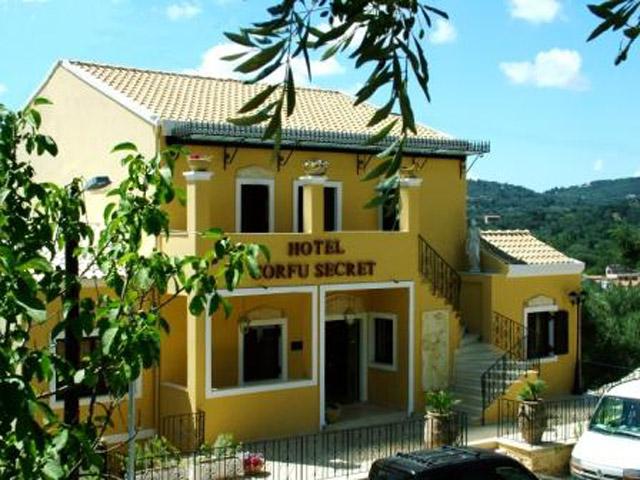Corfu Secret Hotel - Exterior View