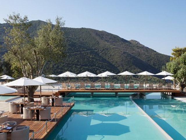 Atlantica Grand Mediterraneo Resort & Spa: Pool area