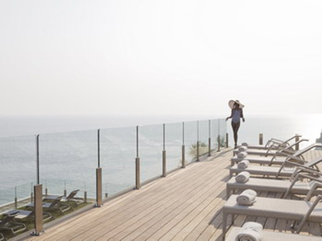 Atlantica Grand Mediterraneo Resort & Spa: Sun deck