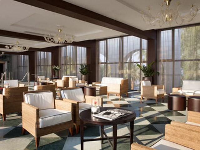 Atlantica Grand Mediterraneo Resort & Spa: Lounge Cafe