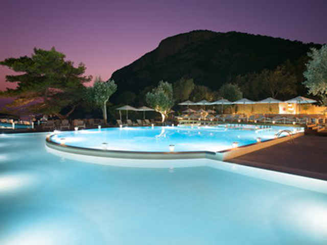 Atlantica Grand Mediterraneo Resort & Spa: Pool area