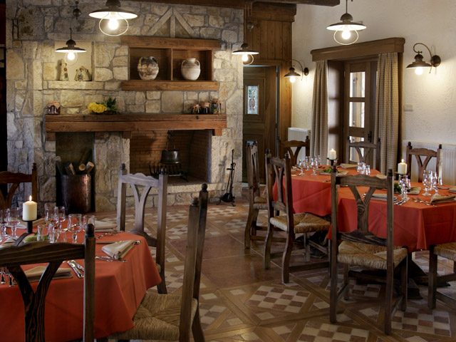 Epohes Guesthouse: Restaurant