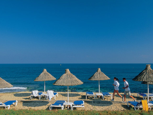 Aldemar Knossos Royal Village: Beach Area