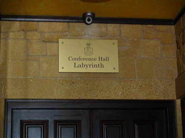 Palazzo Loupassi Boutique Hotel: Conference Hall Labyrinth
