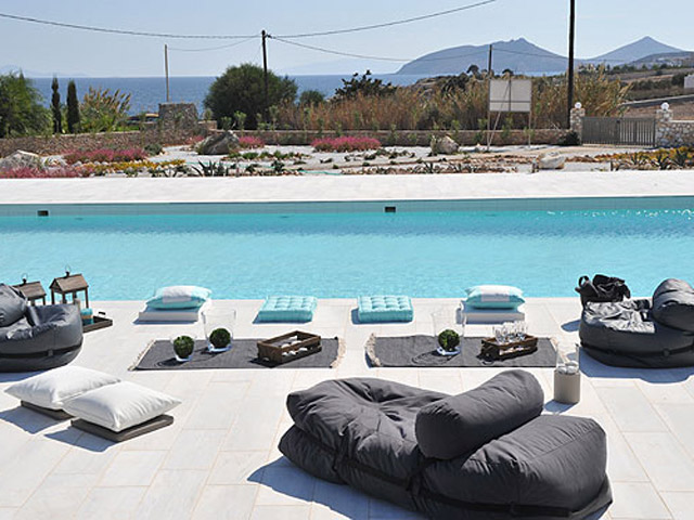 Stagones Luxury Villas: Pool Area