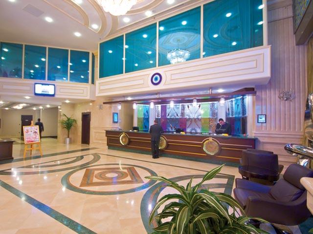 Eser Premium Hotel & Spa : Reception