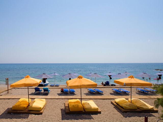 Mikri Poli Rhodes Resort: Beach
