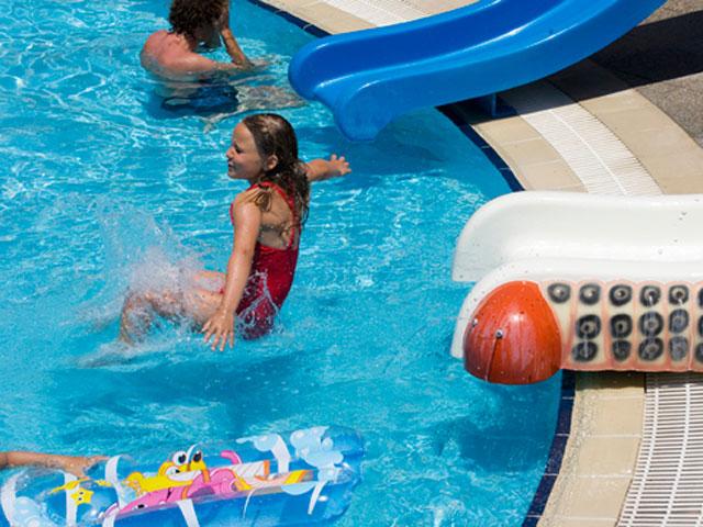 Mikri Poli Rhodes Resort: Pool Area