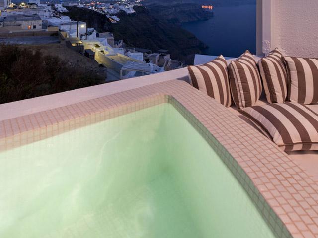 Senses Boutique Hotel: Exterior View Pool Area