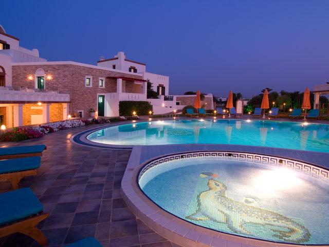 Porto Naxos Hotel - Exterior View