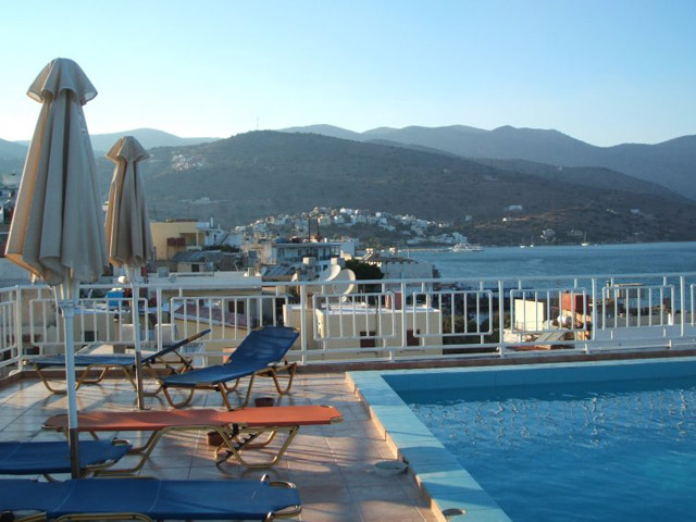 Elounda Akti Olous: Akti Olous Roof top Pool View