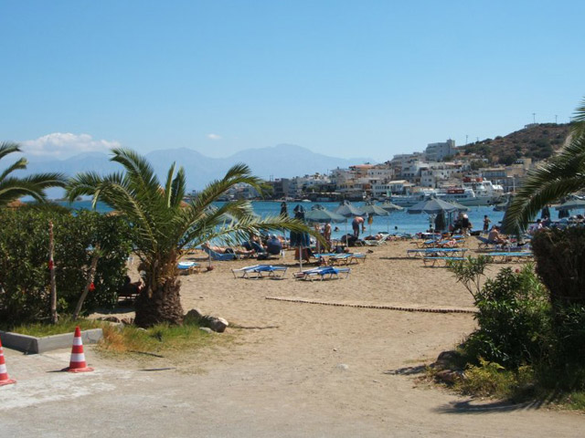 Elounda Main Beach
