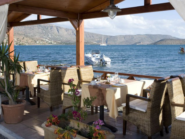 Elounda Akti Olous: Breakfast Area