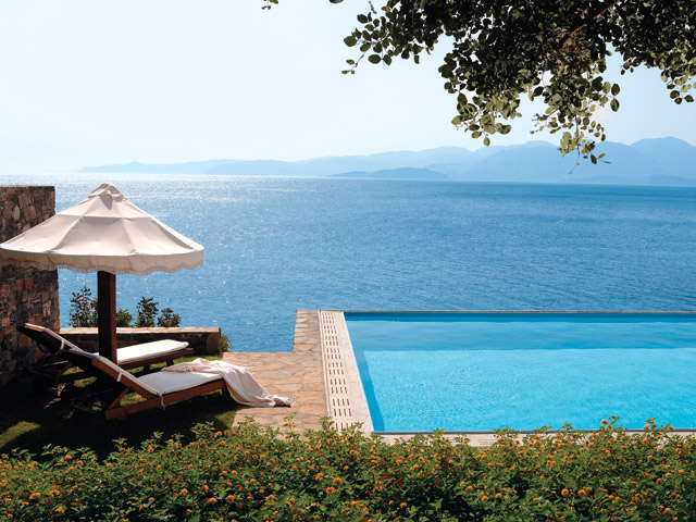 Elounda Peninsula All Suite Hotel: Presidential Pool Area