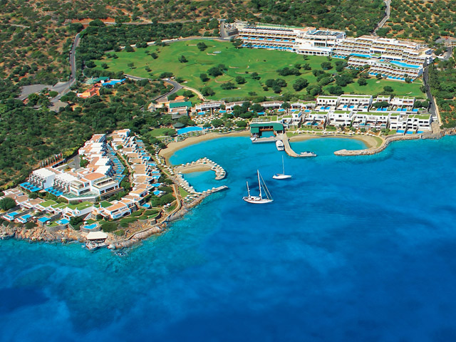 Elounda Peninsula All Suite Hotel: Exterior View & Accommodation