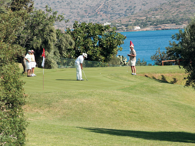 Elounda Peninsula All Suite Hotel: Golf
