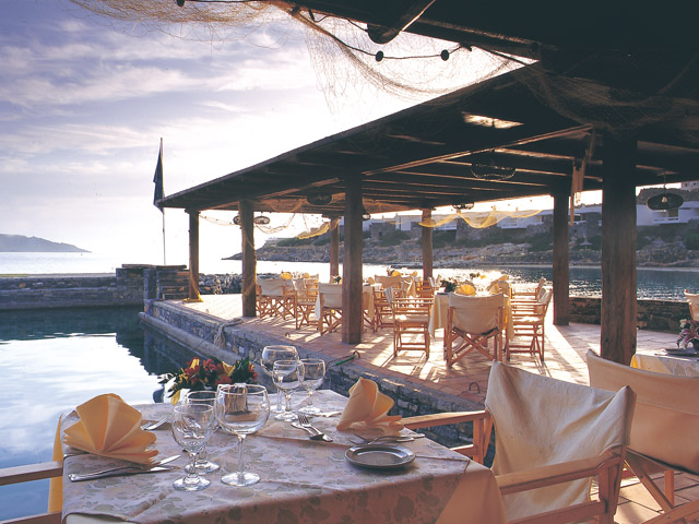 Porto Elounda Golf and SPA Resort: Taverna