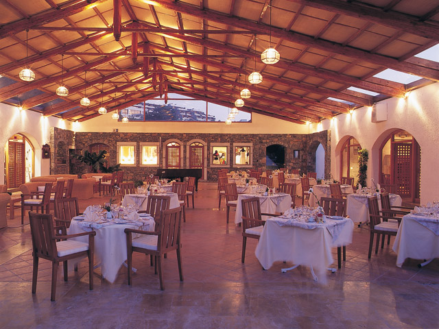 Porto Elounda Golf and SPA Resort: Restaurant