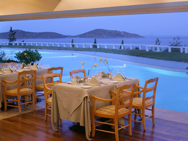 Porto Elounda Golf and SPA Resort: Restaurant Bar