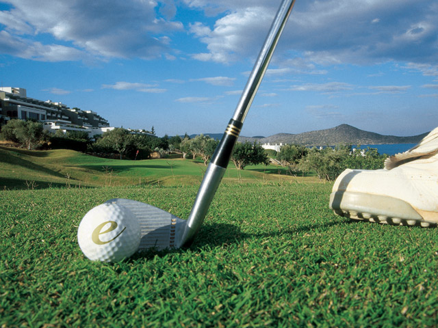 Elounda Mare Hotel - Relais & Chateaux: Golf