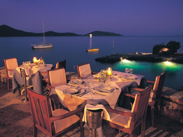 Elounda Mare Hotel - Relais & Chateaux: Restaurant