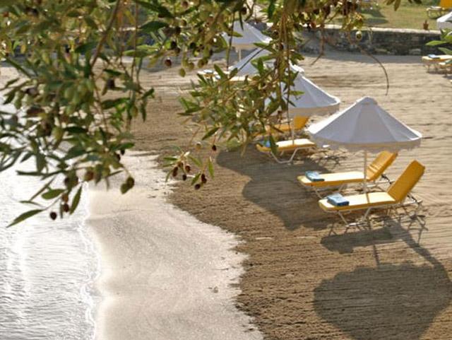 Elounda Mare Hotel - Relais & Chateaux: Beach