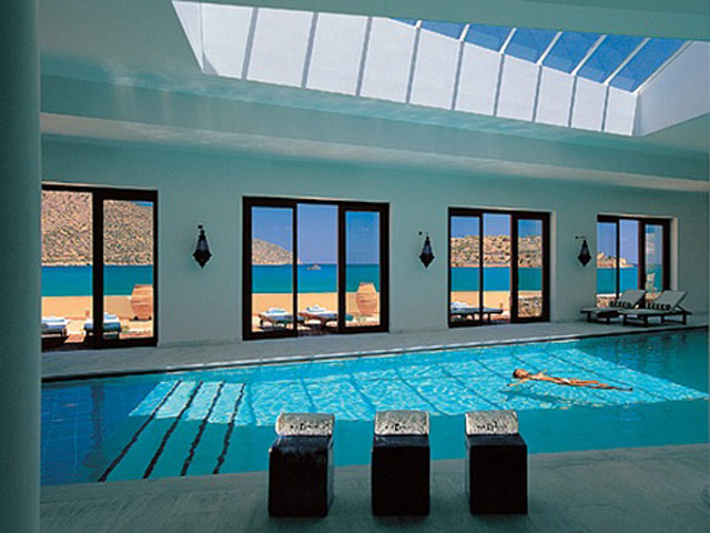 Blue Palace Resort & Spa: The Elounda Spa & Thalassotherapy-Indoor Pool