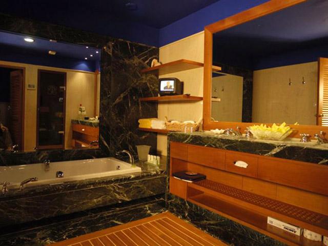Elounda Beach Exclusive  & Platinum Club: Elounda Beach Exclusive Club  Family Residences Bathroom
