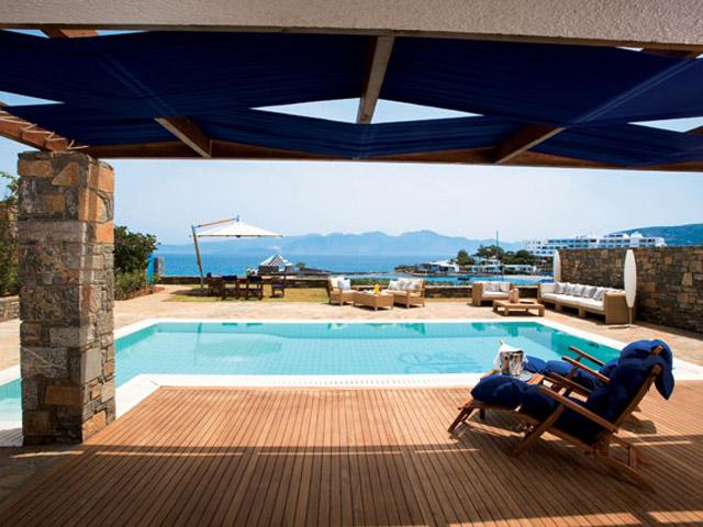 Elounda Beach Exclusive  & Platinum Club: Elounda Beach Exclusive Club  Hideaway Villas Pool Area