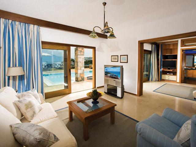 Elounda Beach Exclusive  & Platinum Club: Elounda Beach Exclusive Club  Hideaway Villas Living Room