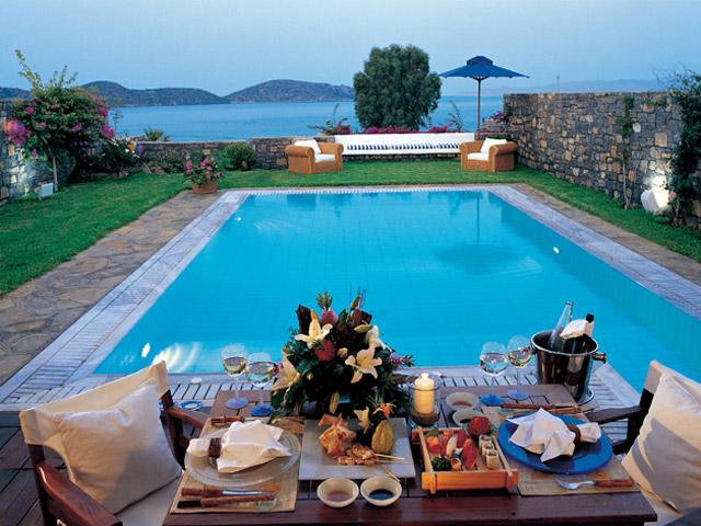 Elounda Beach Exclusive  & Platinum Club: Elounda Beach Exclusive Club  Island Villas Pool Area
